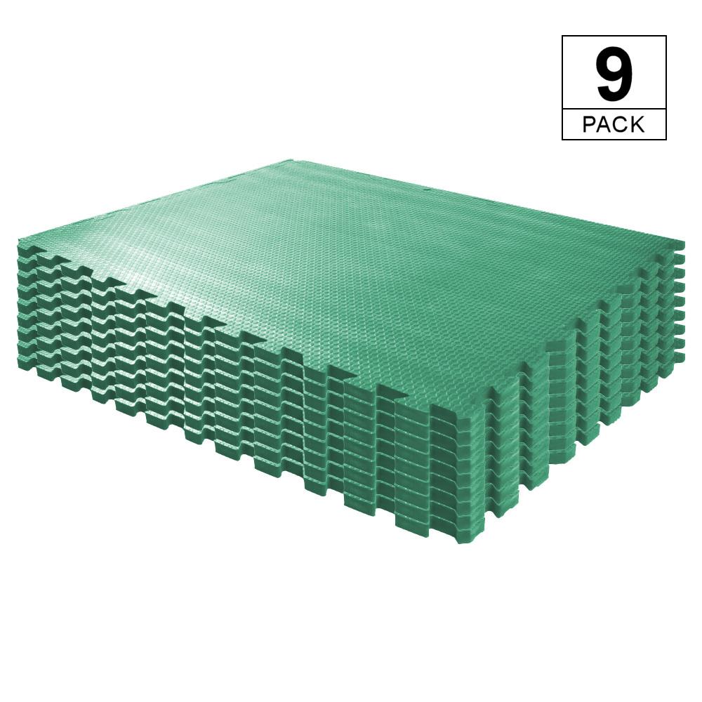 EVA Stable Mat - 9 Pack (Green)